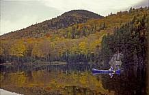 peaceful canoe