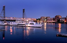 Portsmouth At Night
