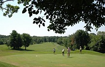 Golfing At Country Club