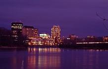 Manchester Skyline At Night