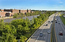 Millyard And Merrimack River